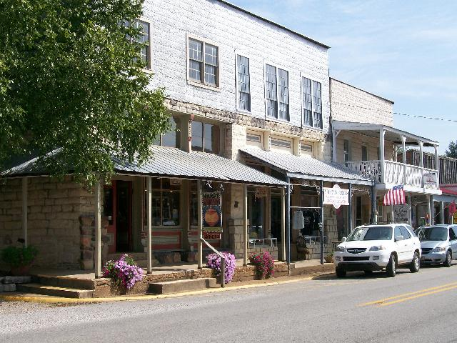 Main Street of Old Hardy Town